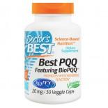 Doctor's Best, Best PQQ, 20 mg, 30 Veggie Caps