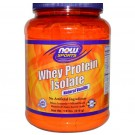 Whey Protein Isolate, Natural Vanilla (816 gram) - Now Foods