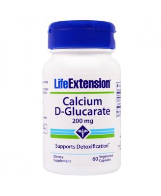 Calcium D-Glucarate 200 mg (60 Veggie Capsules) - Life Extension