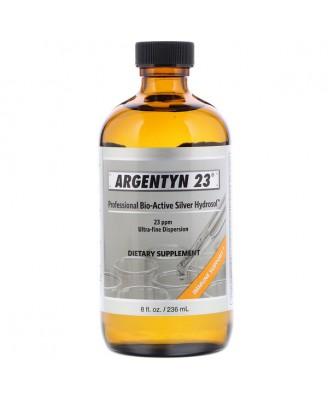 Argentyn 23 Professional Bio-Active Silver Hydrosol 8 fl oz (236 ml) - Allergy Research Group
