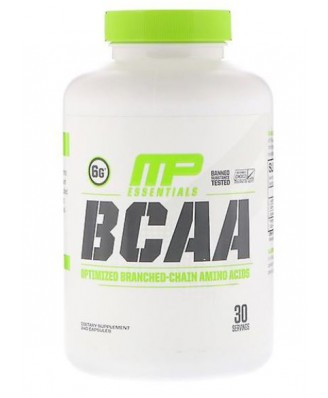 BCAA 3:1:2 Capsules Pack of 240 - MusclePharm