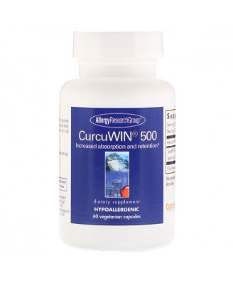 CurcuWin 500 60 Vegetarian Capsules - Allergy Research Group