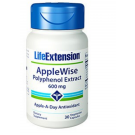 Applewise Polyphenol Extract 600 Mg - 30 Vegetarian Capsules - Life Extension