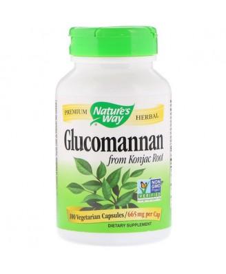 Nature's Way, Glucomannan Konjac Root 665 mg, 100 Vcaps