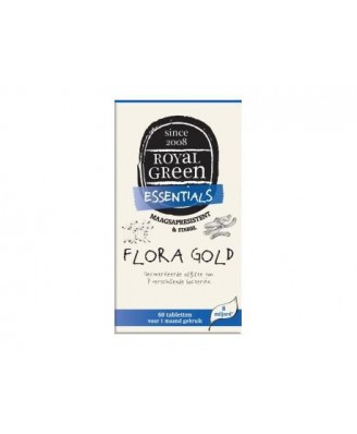 Flora Gold – 60 Tabs – Royal Green