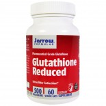 Glutathione Reduced 500 mg (60 Veggie Caps) - Jarrow Formulas