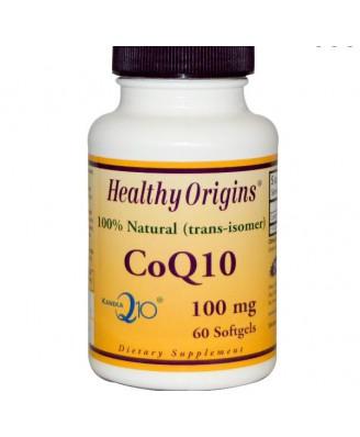 CoQ10 Gels (Kaneka Q10) 100 mg (120 Softgels) - Healthy Origins