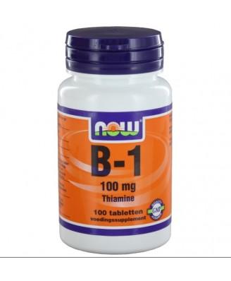 Now Foods, B-1, 100 mg, 100 tabletten