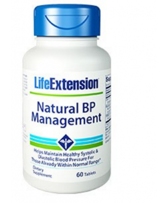 Natural BP Management  - 60 Tablets - Life Extension