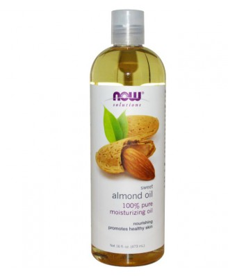 Sweet Almond Oil (473 ml) - Now Foods