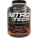 Nitro-Tech Whey Protein Powder Milk Chocolate, 1.81kg - Muscletech